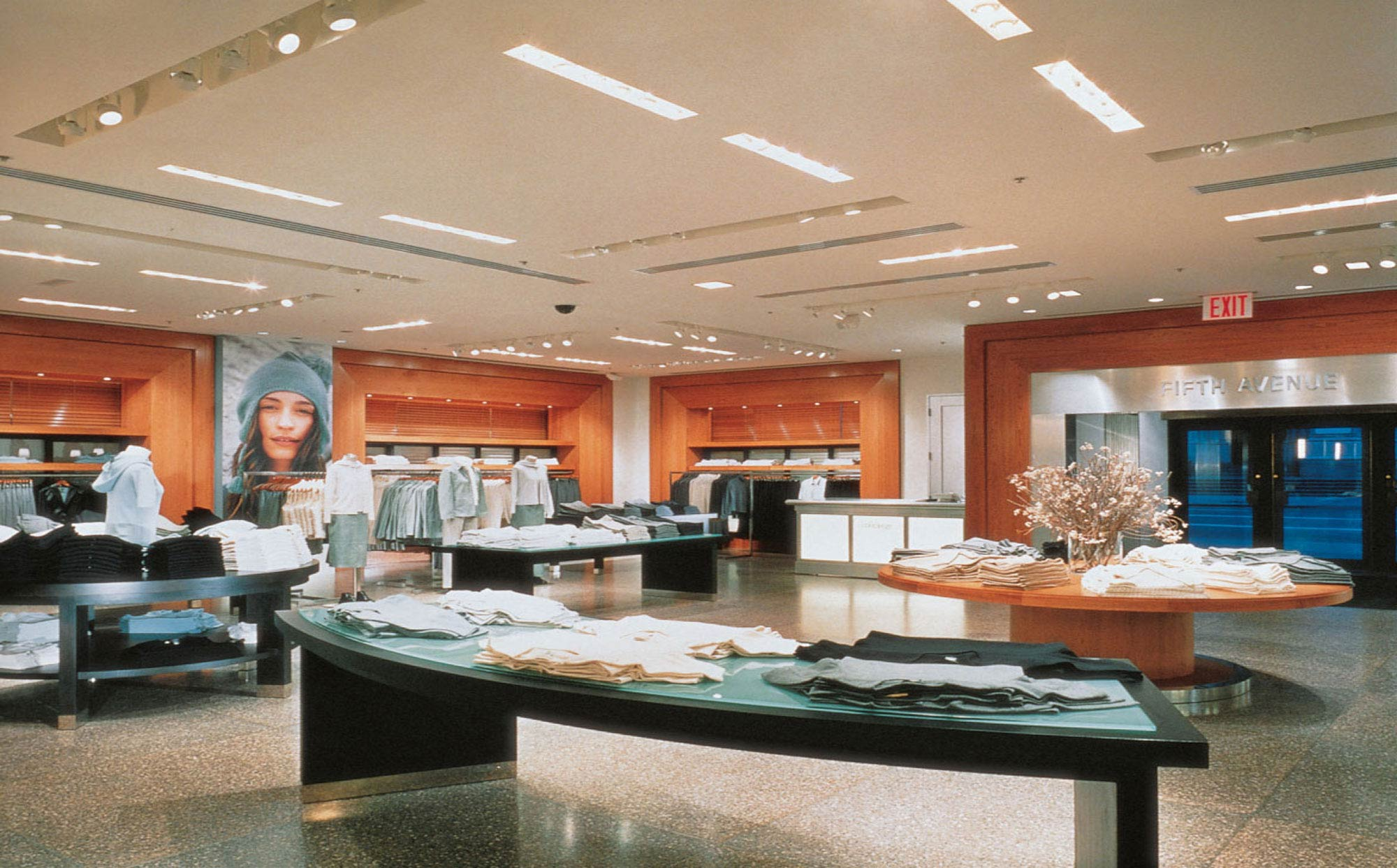 fetzer architecture woodworking Banana Republic project
