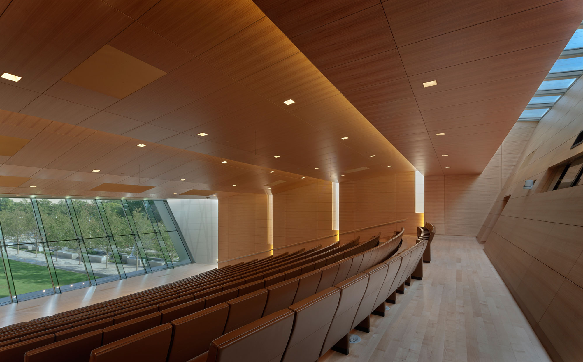 fetzer architecture woodworking Devon Energy Center project