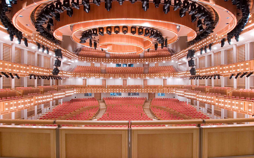 fetzer architecture woodworking Miami Performing Arts Center project