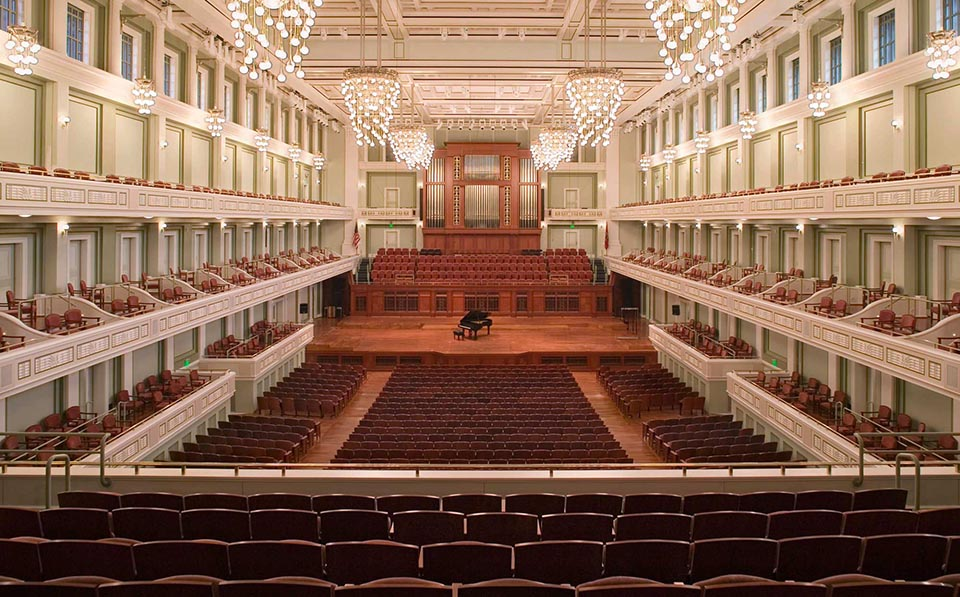 fetzer architecture woodworking Nashville Symphony Hall project