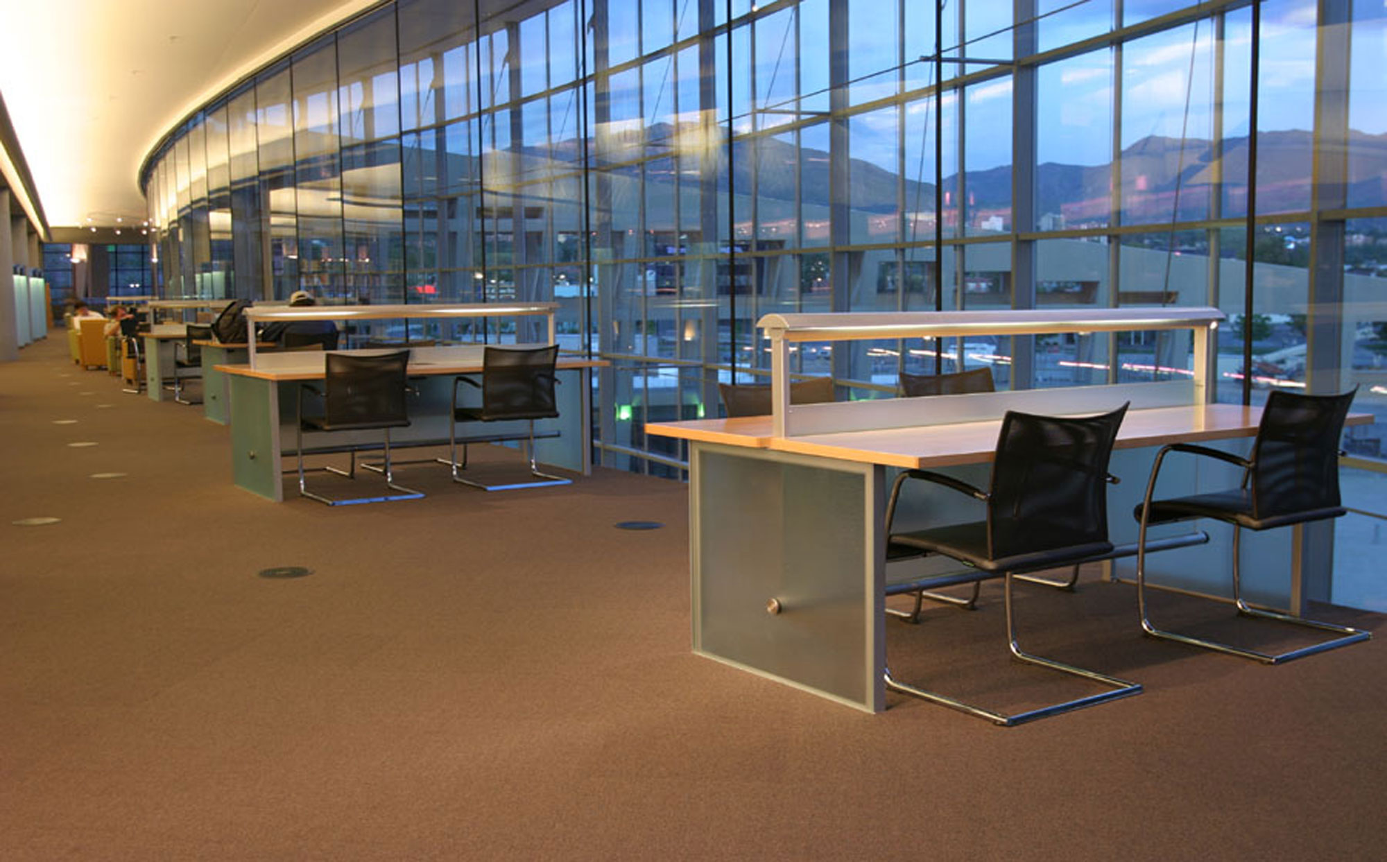 fetzer architecture woodworking Salt Lake City Public Library project